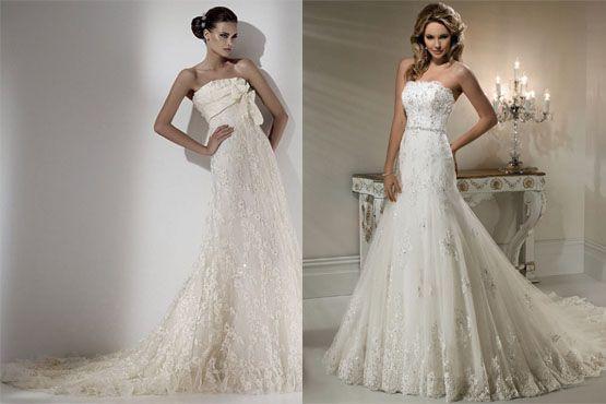 vestido noiva ideal formato corpo1 O vestido de noiva ideal para cada tipo de corpo
