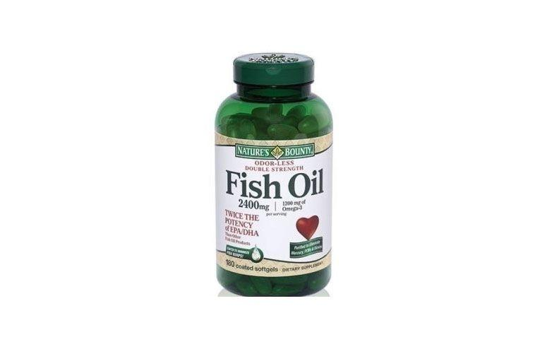 "Fish Oil  por R$193,40 na <a href=""http://ad.zanox.com/ppc/?29470371C10967541&ULP=[[http://www.natue.com.br/fish-oil-odorless-oleo-de-peixe-desodorizado-2400mg-double-180-cps-nature-s-bounty-27471.html?utm_source=Zanox&utm_medium=Afiliados&utm_campaign=deeplink]]"" target=""blank_"">Natue</a>"