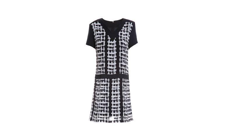 "Vestido curto estampado para passeio completo por R$275,20 na <a href=""http://www.thelure.com.br/vestido-geometric-xadrez.html"" target=""_blank"">The Lure</a>"
