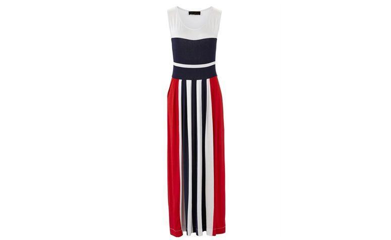 """Vestido longo para esporte fino por R$169 na <a href=""""http://ad.zanox.com/ppc/?27713758C43009238&ULP=[[http://www.posthaus.com.br/moda/vestido-longo-listrado-azul_art178733.html?PAC_ID=125109]]"""" target=""""_blank"""">Posthaus</a>"""