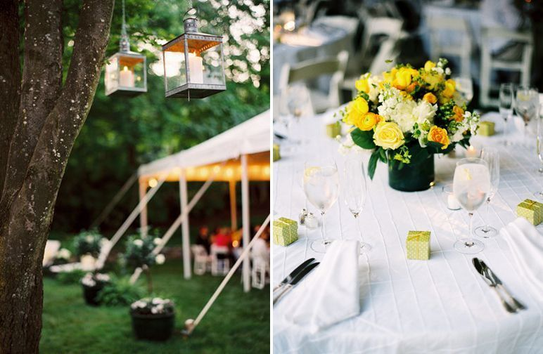 "Foto: Reprodução / <a href=""http://snippetandink.com/preppy-yellow-maryland-wedding/"" target=""_blank"">Snippet & Ink</a>"