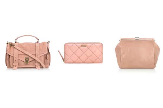 Bolsas que caem bem em looks com ouro rosa