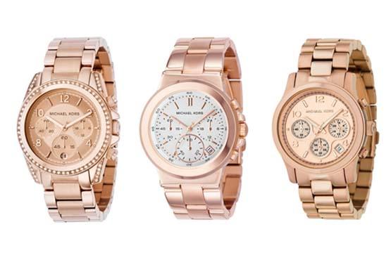 Os relógios em ouro rosa que estão super em alta