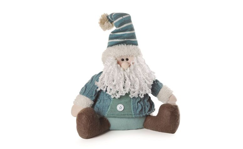 Santa Claus sentado con ropa azul de R $ 96.86 en Magazine 25