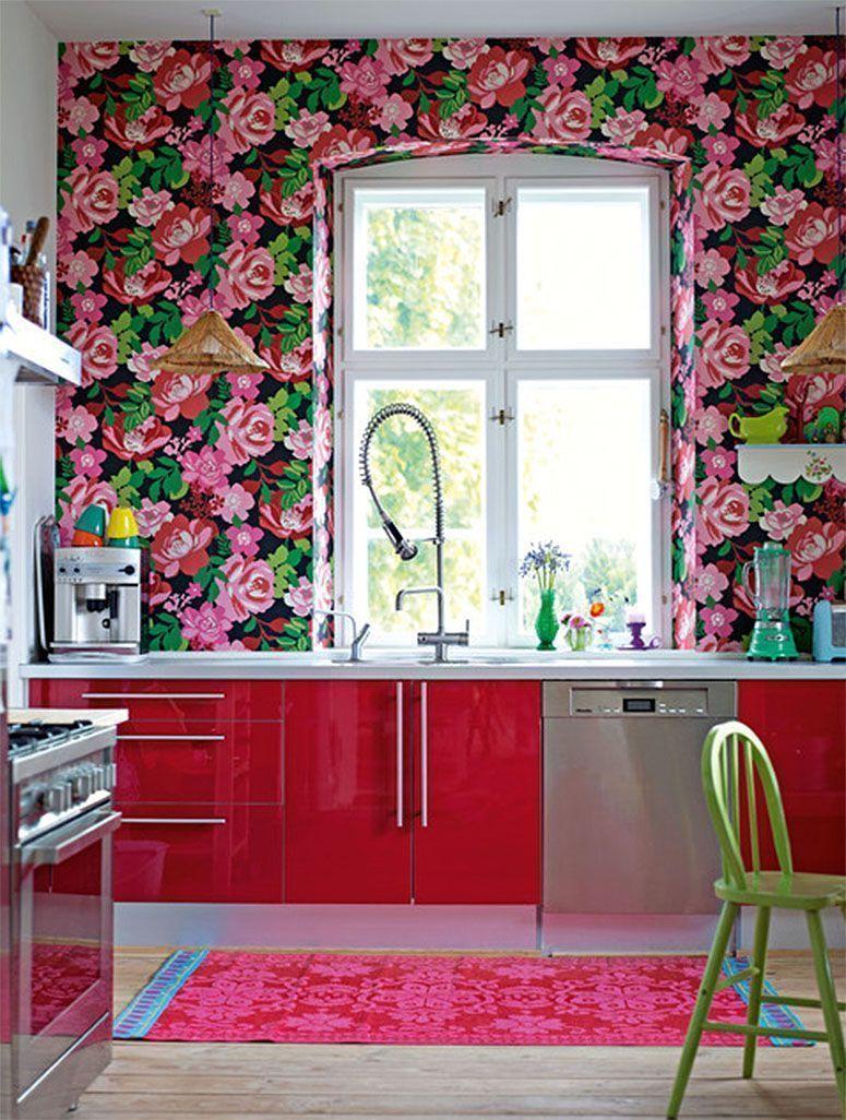 Papel de parede como escolher o ideal para sua decora o - Vinilico para paredes ...