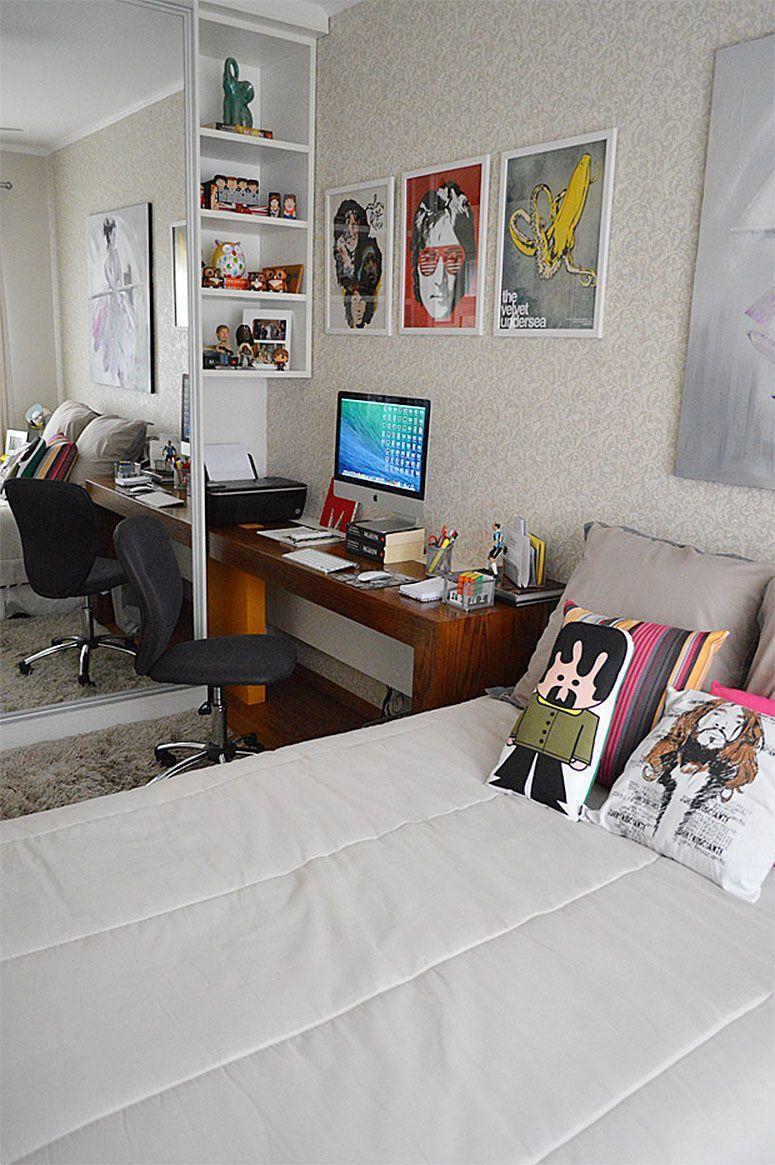 """Foto: Reprodução / <a href=""""http://www.2beauty.com.br/blog/2014/02/26/ap-decoracao-escritorio-closet-e-banheiro-de-visitas/"""" target=""""_blank"""">2Beauty</a>"""