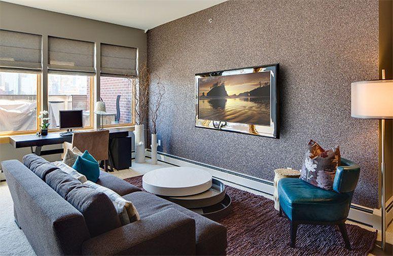 Papel de parede como escolher o ideal para sua decora o - Papel pared salon ...
