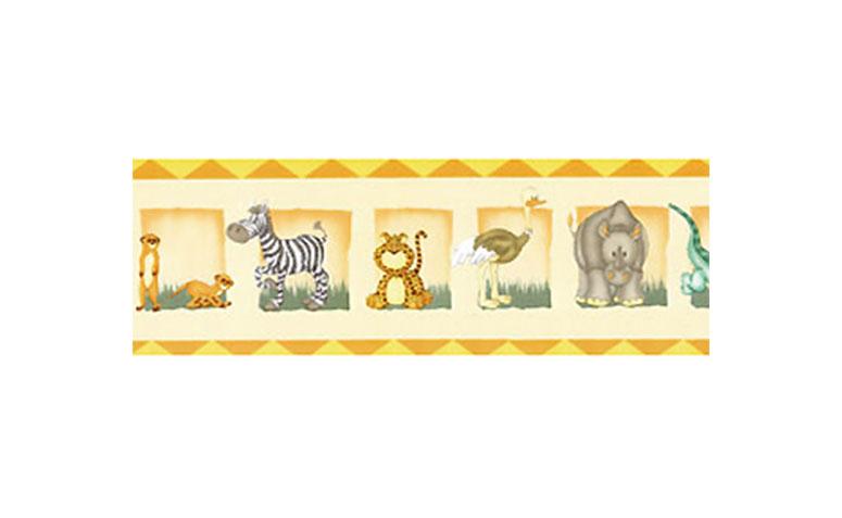 """Papel de parede barrado zoológico por R$29,99 na <a href=""""http://papeldeparededecoracao.com.br/detalhe_produto.php?id_produto=12084"""" target=""""blank_"""">Ciça Braga Papel de Parede</a>"""