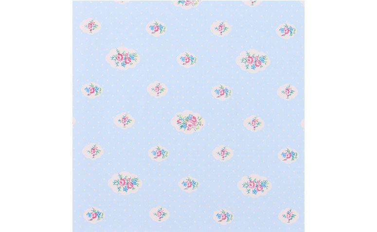 Paper floral blue wall for R $ 39.90 in the Baby Store