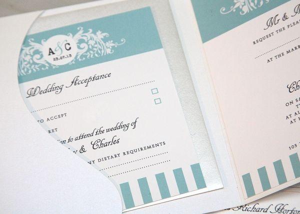 "Foto: Reprodução / <a href=""http://www.wanderlustcards.co.uk/wedding-stationery/tiffany"" target=""_blank"">Wanderlust Cards</a>"