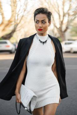 Micah Gianneli_Top fashion style lifestyle blogger_Rihanna Riri style_Saba_Popcherry_Knit dress_Street style_Mezi_Elle Tarplin_Wanted Shoes_Short hair women-