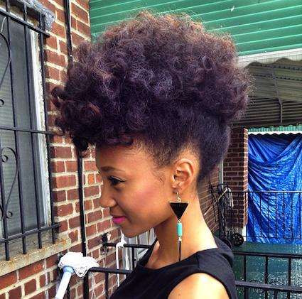 "Foto: Reprodução / <a href=""http://blackgirllonghair.com/2013/12/nicollette-transitioning-natural-hair-style-icon/"" target=""_blank"">Black girl long hair</a>"