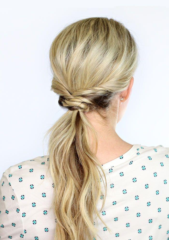 "Foto: Reprodução / <a href=""http://www.twistmepretty.com/2014/10/weaved-ponytail.html"" target=""_blank"">Twist Me Pretty</a>"