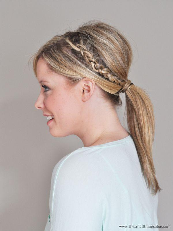 "Foto: Reprodução / <a href=""http://www.thesmallthingsblog.com/2013/05/double-braided-ponytail-tutorial/"" target=""_blank""> The Small Things </a>"