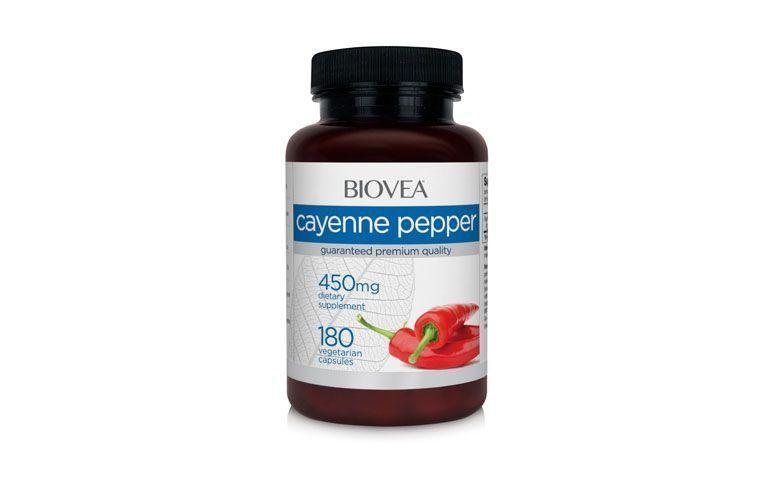 Cayennepfeffer 450 мг für $ 52,35 США в Biovea