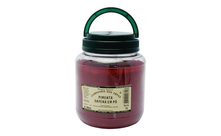 "Pimenta Cayena por R$42,10 na <a href=""http://mercadogourmetonline.com.br/index.php/marcas/companhia-das-ervas/pimenta-cayena-1000g.html"" target=""blank_"">Mercado Gourmet</a>"