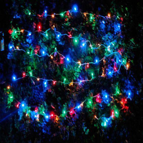 multicolor de luz intermitente, 37 metros, 50 bombillas de $ 19.90 en Walmart