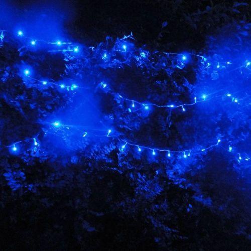 Parpadeantes LED azules 100, 10 metros por $ 34.96 en Walmart