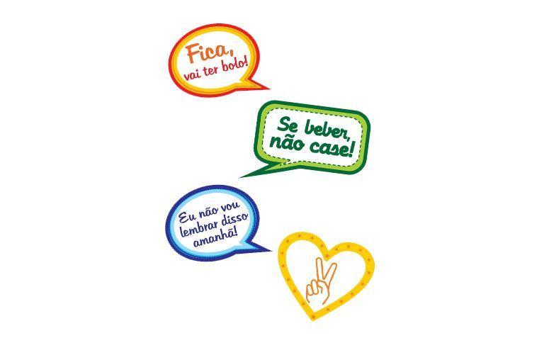 Frases Engraçadas Para Aula Da Saudade: Plaquinhas Para Festa: Frases Divertidas, Fotos E Como Fazer