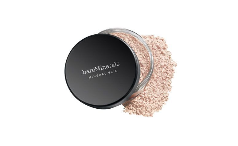 "Pó facial dareMinerals por R$101,07 na <a href=""http://www.thebeautybox.com.br/po-facial-bareminerals-original-spf-25-mineral-veil.htm"" target=""blank_"">The Beauty Box</a>"