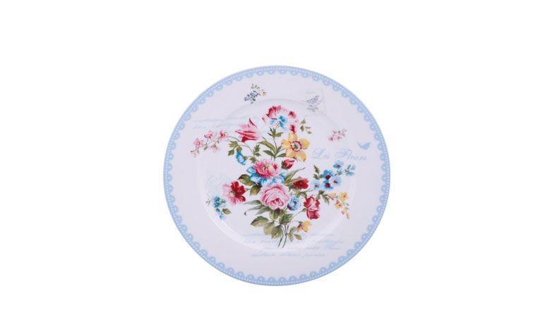 """Prato raso por R$39,90 na <a href=""""http://www.americanas.com.br/produto/9392766/prato-raso-le-jardin-secret-easy-life-azul"""" target=""""blank_"""">Lojas Americanas</a>"""