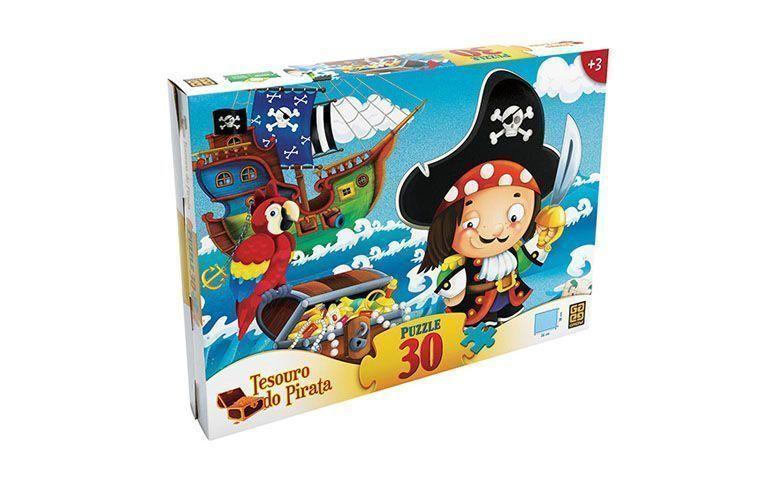 Schatz Puzzle Piraten - 30 Stücke für $ 11,60 в подводной лодке