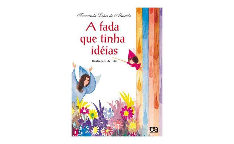 """Livro """"A fada que tinha ideias"""" por R$32,10 na <a href=""""http://www.livrariacultura.com.br/p/a-fada-que-tinha-ideias-2464486"""" target=""""blank_"""">Livraria Cultura</a>"""