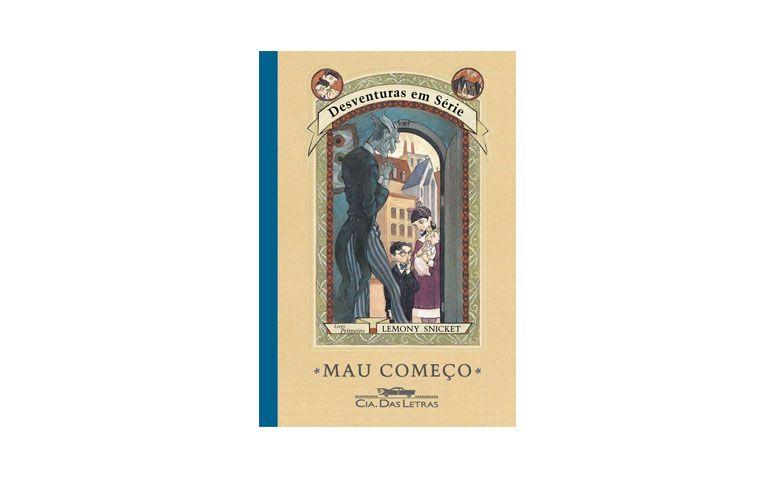 """Livro """"Desventuras em Série - Mau Começo"""" por R$21,40 na <a href=""""http://www.saraiva.com.br/mau-comeco-vol-1-col-desventuras-em-serie-455535.html"""" target=""""blank_"""">Saraiva</a>"""