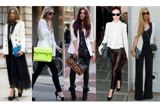 1 Preto e branco para o inverno 2012