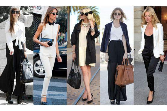 3 Preto e branco para o inverno 2012