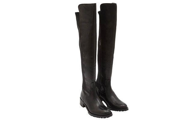 Boot knee high flat Margot by R $ 539 in OQVestir