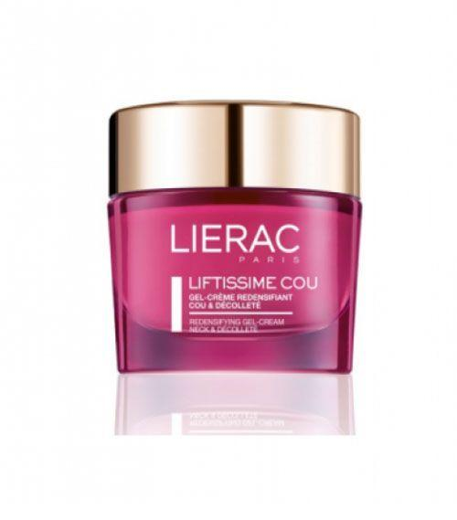 """Lierac Liftissime Gel-Creme para pescoço por R$199,60 na <a href=""""http://beandcare.com/lierac-liftissime-gel-creme-redensificante-pescoco-e-decote-50ml/"""" target=""""blank_"""">Be & Care </a>"""