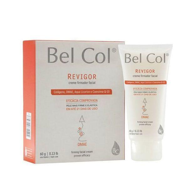 """Creme firmador facial Bel Col por R$159,27 na <a href=""""http://www.emporiodabelezaonline.com.br/bel-col---revigor-creme-firmador-facialcprobc-revcrefirma/p"""" target=""""blank_"""">Empório da Beleza Online </a>"""
