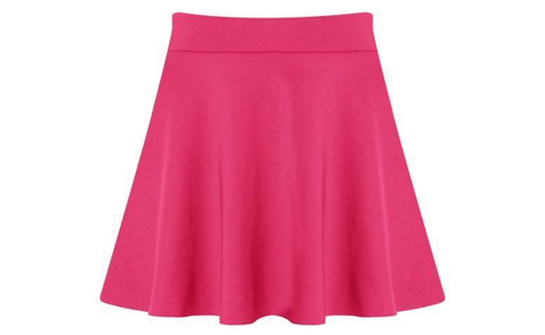 évasé jupe courte rose pour 139 $ en Capitollium