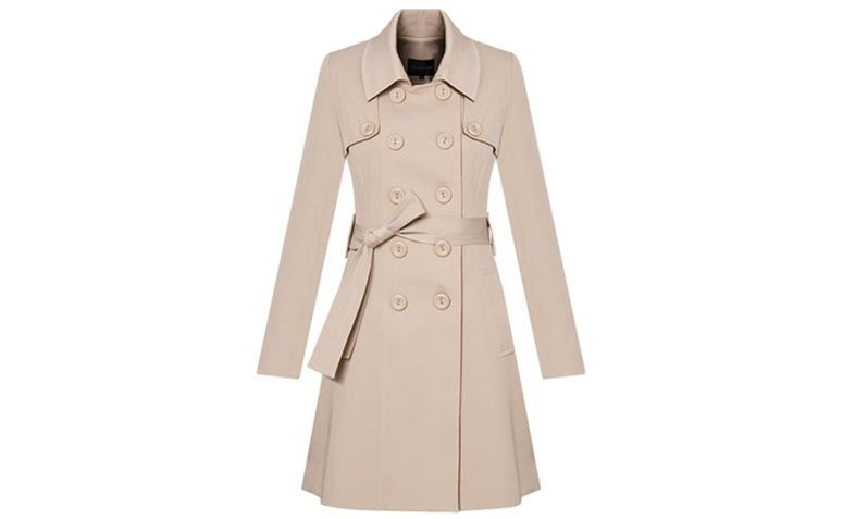 Beige trench coat Vãnews by R $ 638 in Capitollium
