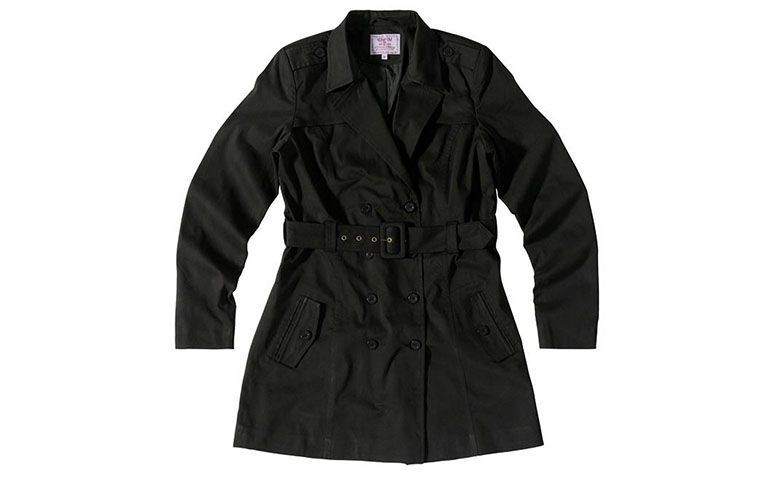 Trench coat black Anyway by R $ 279 in Posthaus