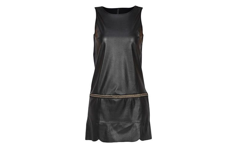 Synthetic leather black dress Coca-Cola for $ 239.20 in Glamor