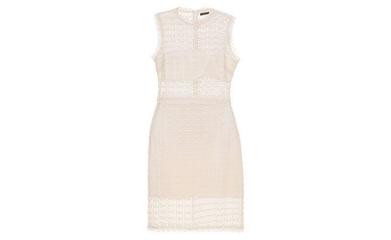 "Vestido de renda curto branco Mixed por R$922 na <a href=""http://www.gallerist.com.br/vestido-midi-lines-mistery-mixed-11409.aspx/p"" target=""blank_"">Gallerist</a>"