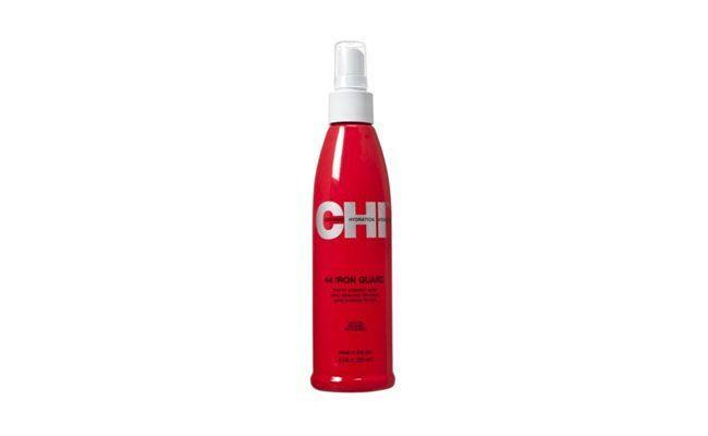 "CHI Iron Guard por R$76,90 na <a href=""http://www.belezanaweb.com.br/chi/chi-44-iron-guard-thermal-protection-spray-protetor-termico-251ml/#"" target=""_blank"">Beleza na Web</a>"