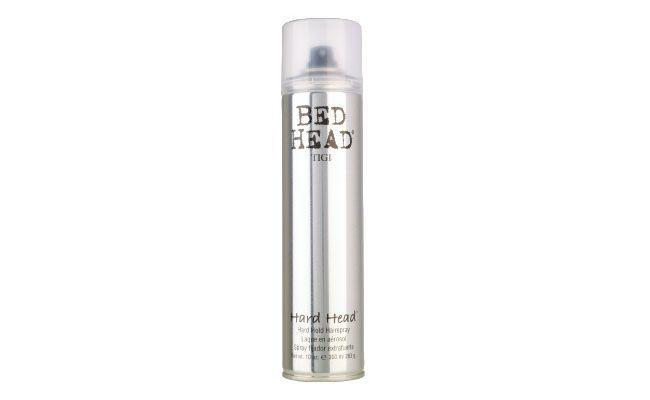 "Bed Head Hard Hold por R$104 na <a href=""http://www.sephora.com.br/tigi-haircare/cabelos/finalizador/spray-fixador-bed-head---hard-hold-hairspray-8059"" target=""_blank"">Sephora</a>"