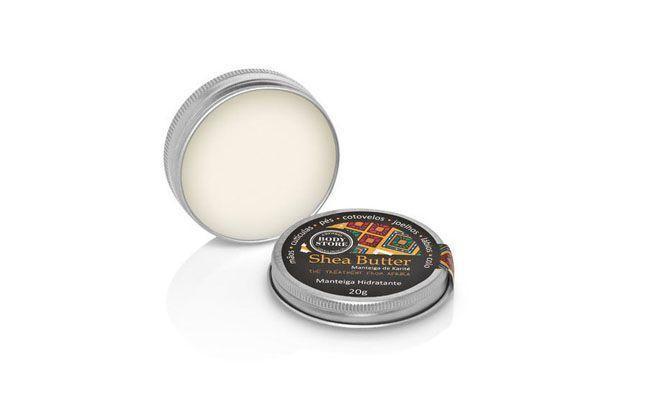 """Manteiga multiuso Shea Butter por R$24,90 na <a href=""""http://www.bodystore.com.br/produto/manteiga-hidratante-492"""" target=""""blank_"""">Body Store</a>"""