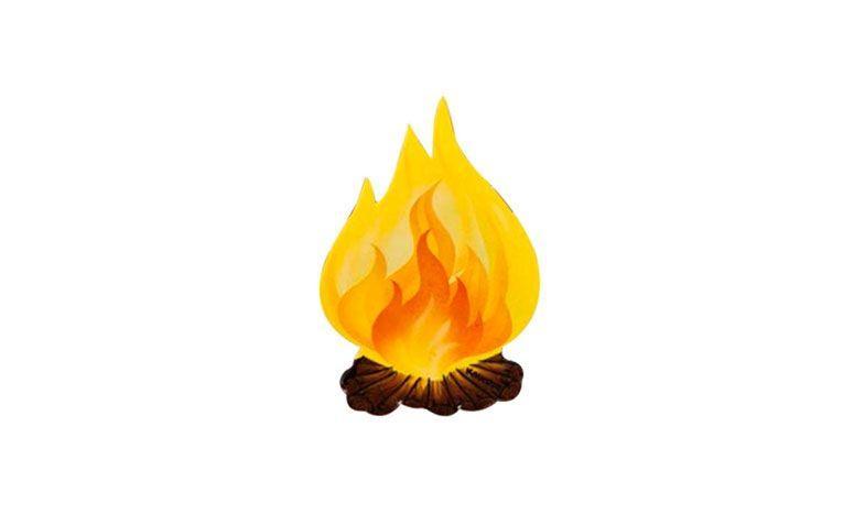 """Aplique fogueira grande – 8 unidades por R$  4,53 no <a href=""""http://www.festabox.com.br/produto/14331/enfeite+aplique+fogueira+grande+8+unidades+kaixote"""" target=""""_blank""""> Festa Box </a>"""