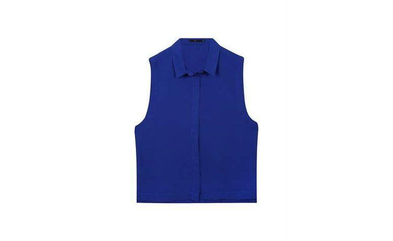 baju tanpa lengan untuk $ 39,90 di Riachuelo