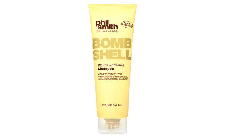 """Xampu Bomb Shell Blonde por R$40 na <a href=""""http://www.sephora.com.br/phil-smith/cabelos/shampoo/shampoo-bomb-shell-blonde-19556"""" target=""""blank_"""">Sephora</a>"""