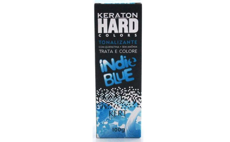 "Tonalizante Keraton Indie Blue por R$36,20 na <a href=""http://wolare.com.br/kert/1782-tonalizante-indie-blue-keraton-kert-100g.html "" target=""_blank"">Wolare</a>"