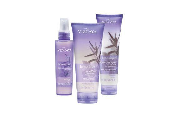 Kit Vizcaya Botanique para cabelos finos