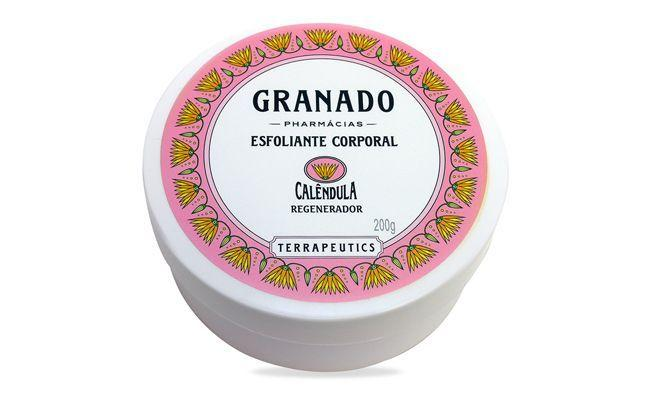 "Esfoliante Granado Calêndula por R$44,90 na <a href=""http://www.thebeautybox.com.br/esfoliante-granado-calendula.htm?idpublicacao=2daee185-82ad-4e6a-860a-cbf898d96748&gclid=CJ-5zL75s78CFSJo7AodZUkA5Q"" target=""blank_"">The Beauty Box</a>"
