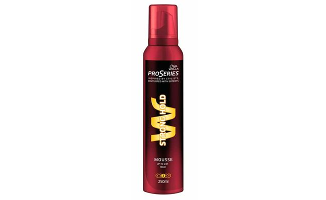 "Mousse Wella Pro Serie por R$16,99 nas <a href=""http://www.lojasrede.com.br/mousse-wella-pro-series-strong-hold-250ml-38467.aspx/p"" target=""_blank"">Lojas Rede</a>"