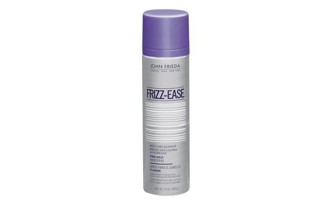 "Spray John Frieda Frizs Ease por R$36 na <a href=""http://www.sephora.com.br/john-frieda/cabelos/modelador/spray-fixador-frizz-ease-moisture-barrier-firm-hold-hairspray-3605"" target=""_blank"">Sephora</a>"