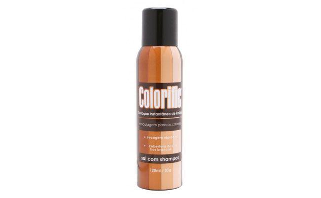 """Sugestão do hairstylist Valentim Bruno: Aspa Colorific retoque instantâneo de raiz por R$26, 91 na <a href=""""http://www.cabeleza.com.br/prod/224001/Aspa-Colorific-Retoque-Instantaneo-de-Raizes-120ml.aspx"""" target=""""_blank"""">Cabeleza</a>"""